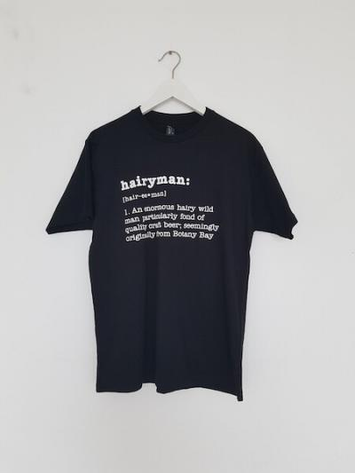 Hairyman black T-shirt