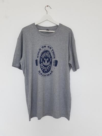 Hairyman logo grey