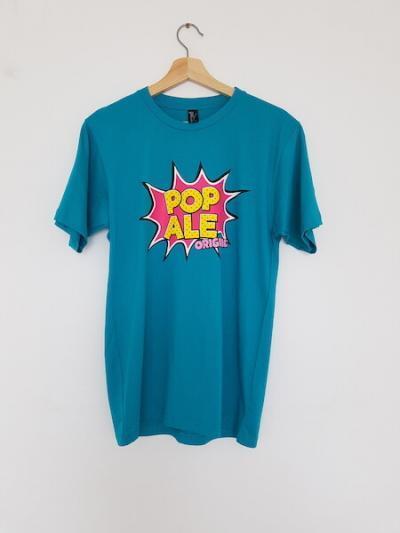 pop ale large logo teal
