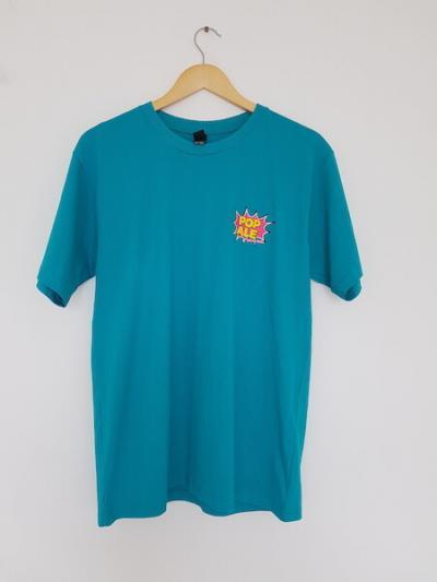 pop ale small logo teal