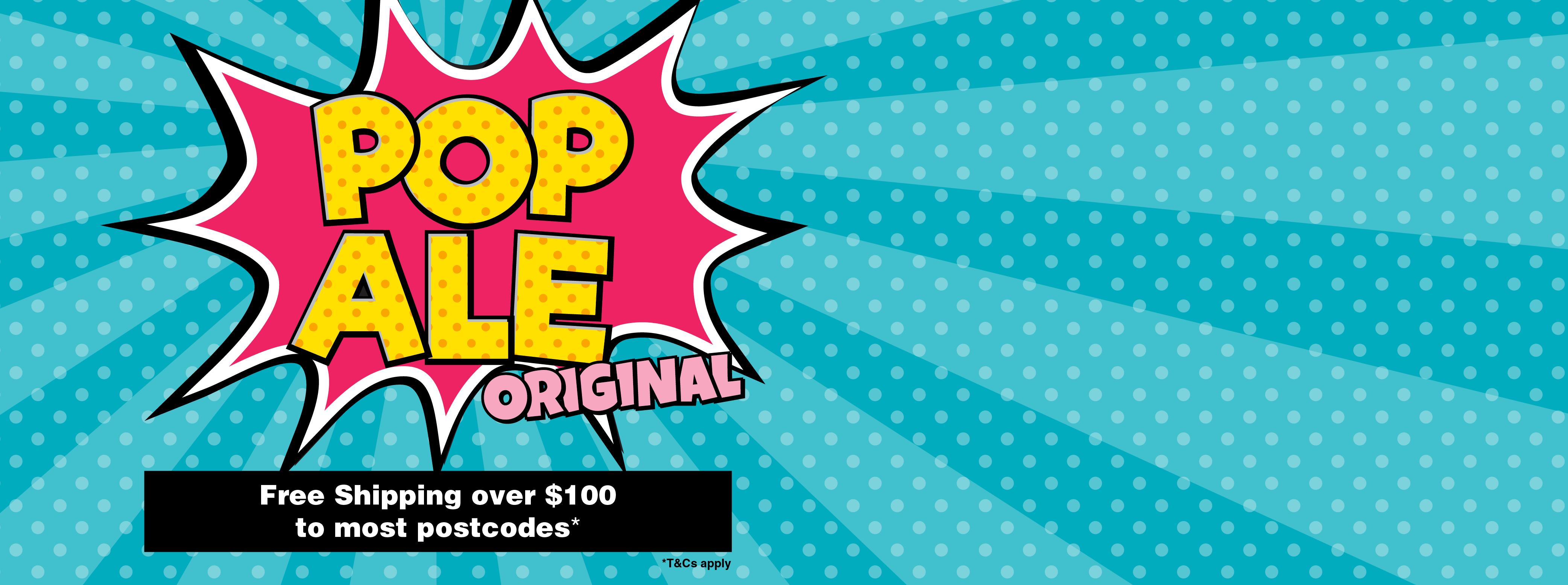 Pop Ale Slide 100 FreeShipping